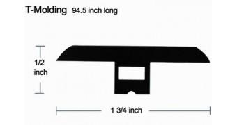 T molding 94.5 inch long