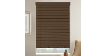 """2"""" Select Classic Basswood Wood Blinds"""